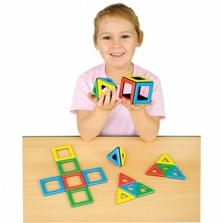 Magnetic Polydron Starter Set (32 Pieces)