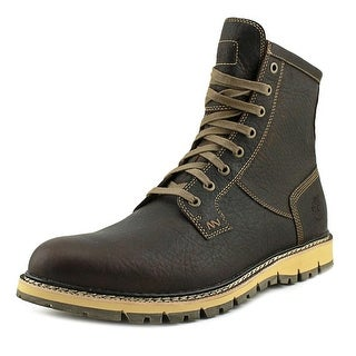Timberland Britton Hill Men  Round Toe Leather Brown Boot