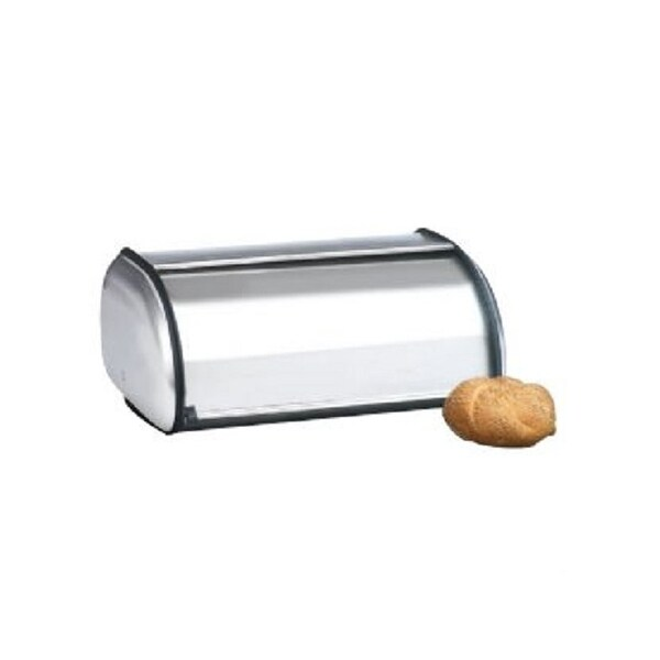 Anchor Hocking 08994Mr Brushed Steel Bread Box - Euro Design