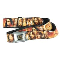 The Lord of the Rings Seatbelt Belt - Character Group / The One Ring-Holds Pants Up