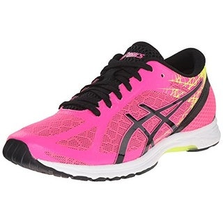 Asics Womens Gel-DS Racer 11 Faux Leather Mesh Inset Running Shoes - 6 medium (b,m)