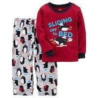 8be72f0b3 Shop Carter s Baby Boys  2-Piece Bear Fleece PJs