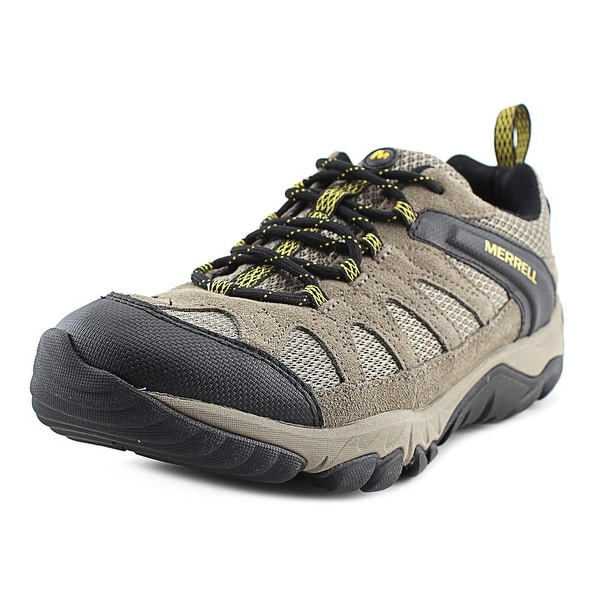 Merrell Outright Men Round Toe Synthetic Tan Hiking Shoe