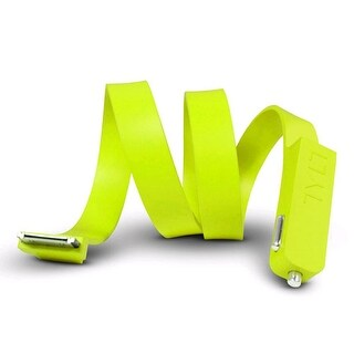 Tylt Band Car Charger for Apple iPhone 4/4S, iPod (30-Pin) - Green