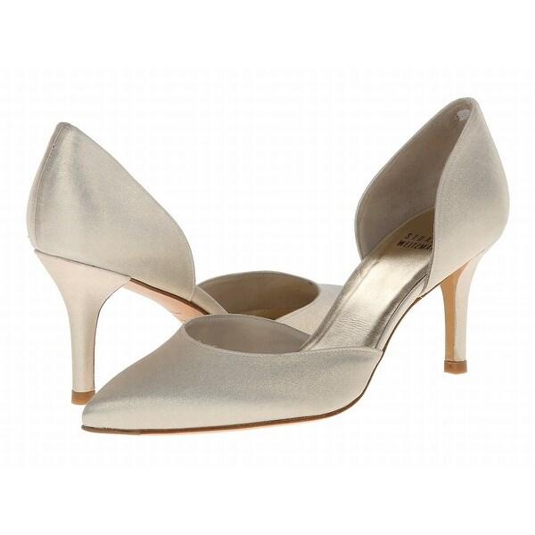 Stuart Weitzman NEW White Ivory Shoes 10W Pumps Classics Heels