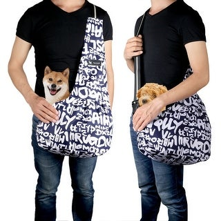 Oxford Cloth Portable Pet Carrier Bag Hands-free Outdoor Washable Tote Backpack for Small Dog Cat