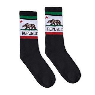 Link to SOCCO - USA-Made Striped Crew Socks Similar Items in Scarves & Wraps