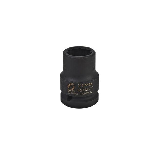 Sunex tools 421mzt sunex tools 421mzt - 3/4 drive 21mm 12 point thin wall impact socket