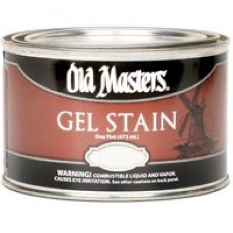 Old Masters 80308 Interior & Exterior Gel Stain, Cherry Pint