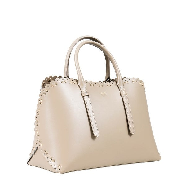 02872614f Shop Roberto Cavalli Class GWLPE0 022 Taupe Woman Leather Bag - On ...