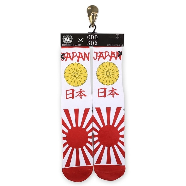 Odd Sox Japan Unisex Socks, 6-12