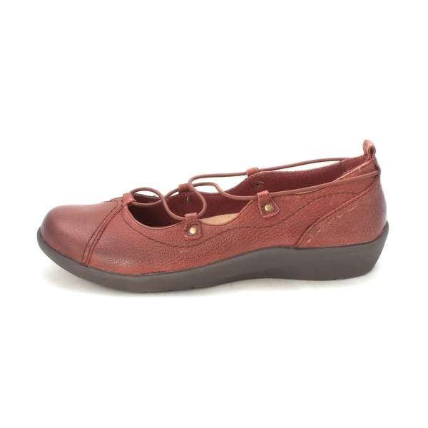 Shop EARTH ORIGINS Womens London Leather - Closed Toe Ballet Flats - Leather 8.5 - - 21154165 584620