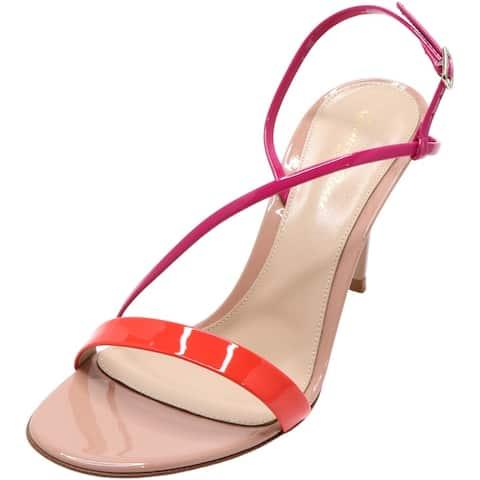 Gianvito Rossi Women's Manhattan 85 Ankle-High Leather Heel