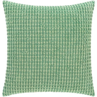 Link to Whitley Faded Waffle Weave Cotton Throw Pillow Similar Items in Decorative Accessories