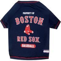 MLB Boston Red Sox Pet Tee Shirt