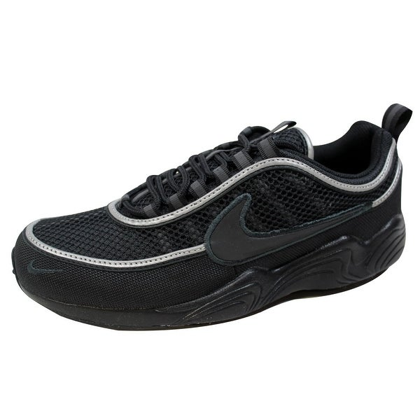 8e8b1fa844170 Shop Nike Men s Air Zoom Spiridon  16 Black Black-Anthracite 926955 ...