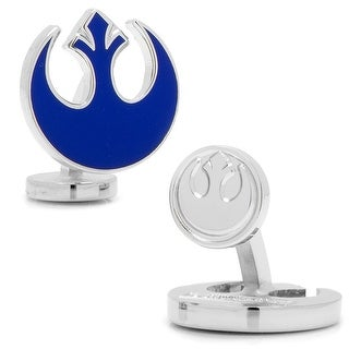 Blue Rebel Symbol Cufflinks