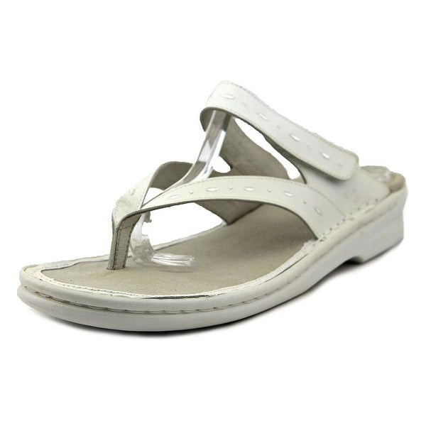 Propet Martina W Open Toe Leather Thong Sandal
