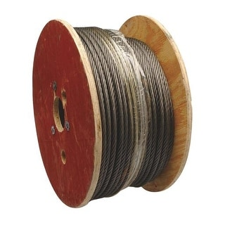 """Apex Cooper Campbell 250' 3/8"""" 6X19 Wire Rope 7008327 Unit: ROLL"""