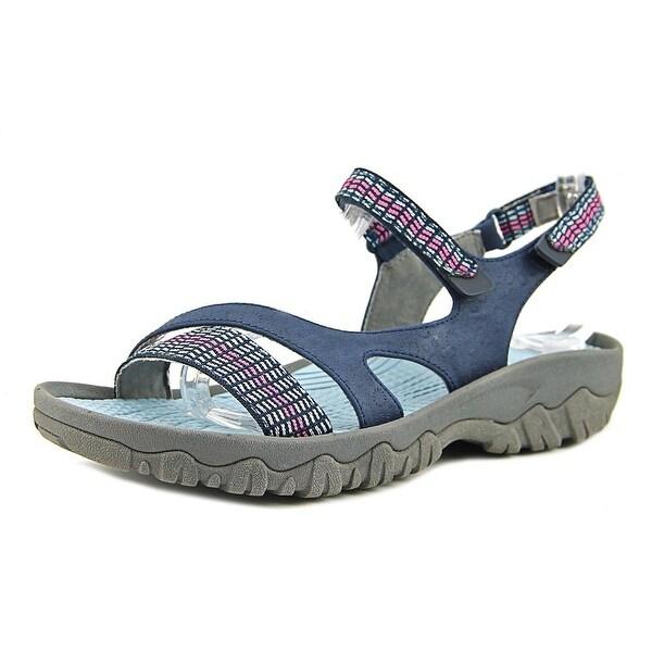 Baretraps Tipper Women Open-Toe Synthetic Blue Sport Sandal