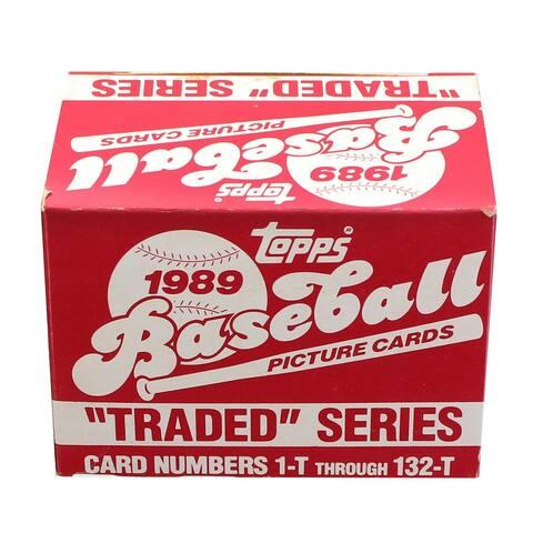 MLB 1989 Topps Baseball Traded Series - Set of 132 Cards - Multi