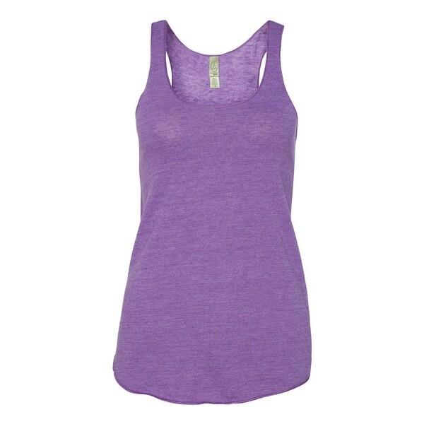 """Women's Meegs Eco-Jerseyâ""""¢ Racerback Tank - Eco True Purple - M"""