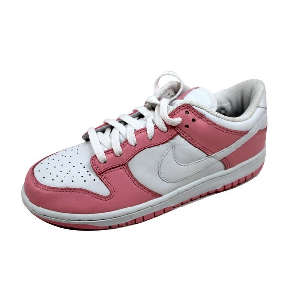 Nike Women's Dunk Low Real Pink/White 309324-613