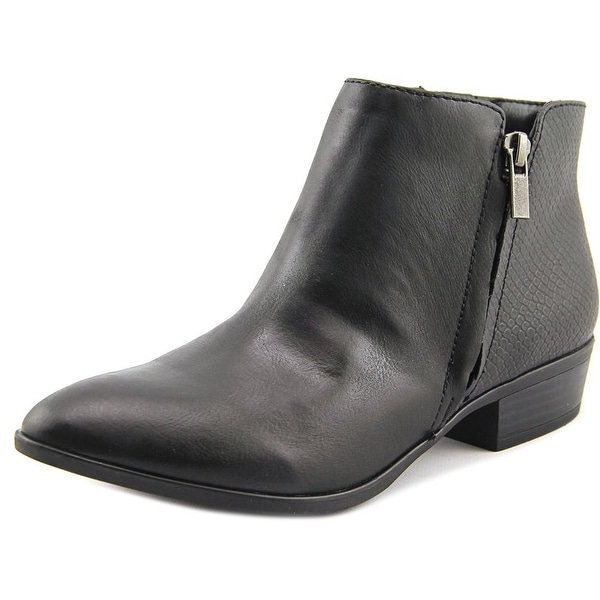 White Mountain Daze Women  Pointed Toe Synthetic Black Ankle Boot