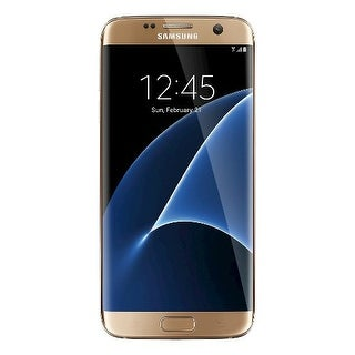 Samsung Galaxy S7 Edge 32GB / SM-G935 Gold Platinum (International Model) Unlocked Mobile Phone