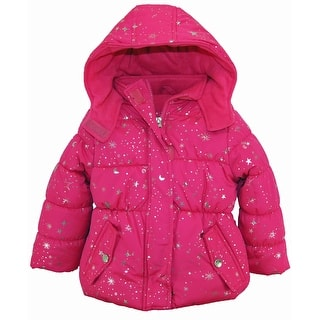 Pink Platinum Toddler Girl Puffer Coat with Silver Starts Print Winter Jacket|https://ak1.ostkcdn.com/images/products/is/images/direct/5553c0dca278578dafe8f46c7542d5f4eb7cddb4/Pink-Platinum-Toddler-Girl-Puffer-Coat-with-Silver-Starts-Print-Winter-Jacket.jpg?impolicy=medium