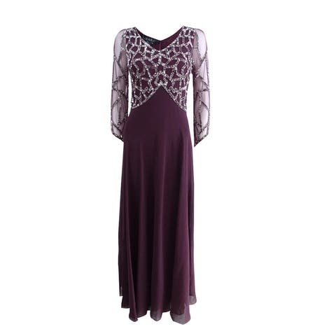 94f47cf425b J Kara Women s Beaded Empire-Waist Gown