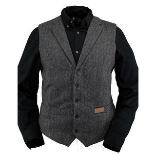 Outback Trading Vest Mens Jessie Wool Lapel Buttons Pocket Black 29785|https://ak1.ostkcdn.com/images/products/is/images/direct/55549ce56a6789d8b74f5c7c0617a98e6ee15bea/Outback-Trading-Vest-Mens-Jessie-Wool-Lapel-Buttons-Pocket-Black-29785.jpg?impolicy=medium