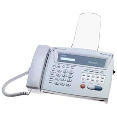 Brother Fax 275 Thermal Transfer Personal Fax Machine, White
