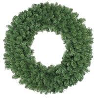 "36"" Colorado Pine Artificial Christmas Wreath - Unlit - green"