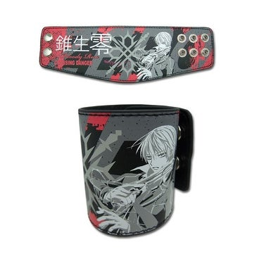 Vampire Knight Zero Tattoo Pleather Wristband