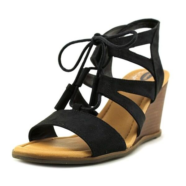 0b41a0fba7ec Shop Dr. Scholl s Celeste Women Black Sandals - Free Shipping On ...
