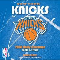 NBA New York Knicks Desk Calendar, Basketball by Turner Licensing