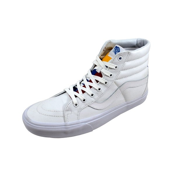 Vans Men's Sk8 Hi Reissue True White/Blue VN0A2XSBMXF