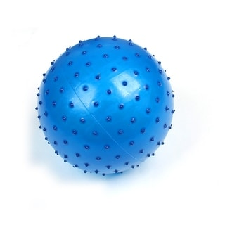 Inflatable Blue Spiky Body Exercise Stress Relief Massage Ball for Kid