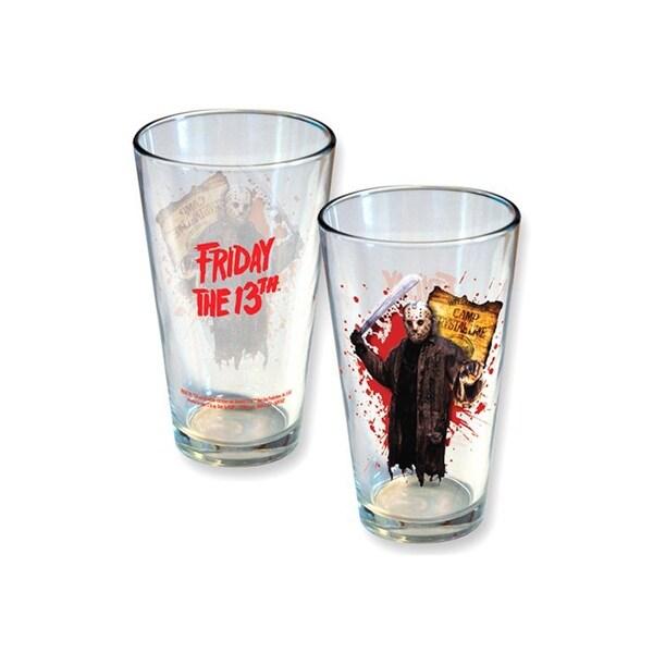 75065f70fa8 Friday the 13th Jason 16 oz Pint Glass