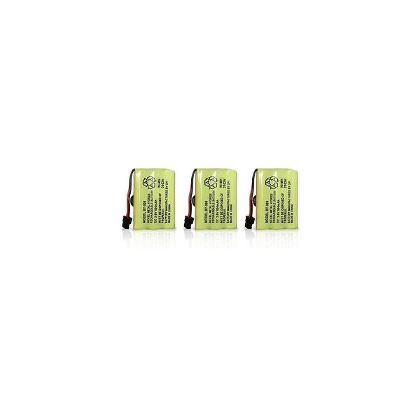 Replacement Battery for Uniden DCT750 / DCT7585 Phone Models (3 Pack)
