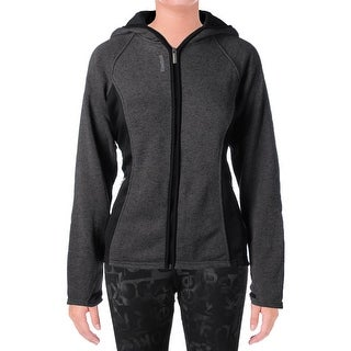 Reebok Womens Trailblazer Athletic Jacket Hooded Slim