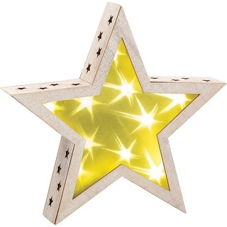 "Light Up Star 10.6""-"