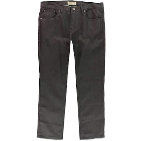 Ecko Unltd. Mens 759 Textured Relaxed Jeans, grey, 30W x 30L - 30W x 30L