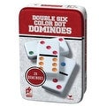 Tin Dominoes, Dbl 6 28 Color Dot Dominoes (Cover May Vary) - Thumbnail 0