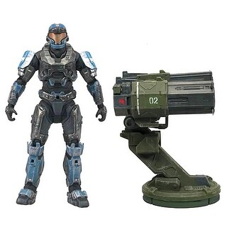 "Halo Reach Warthog Rocket Launcher with 5"" Spartan JFO Figure - multi"