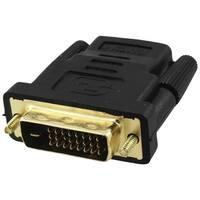 """4XEM 4XHDMIDVIFMA 4XEM DVI-D Male To HDMI Female Adapter - 1 Pack - 1 x DVI-D Male Digital Video - 1 x HDMI Female Digital"
