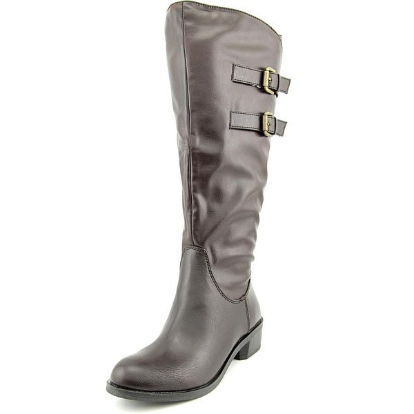 Style & Co Masen Wide Calf Women Round Toe Synthetic Knee High Boot