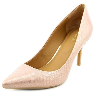 Calvin Klein Gayle Women Pointed Toe Synthetic Pink Heels