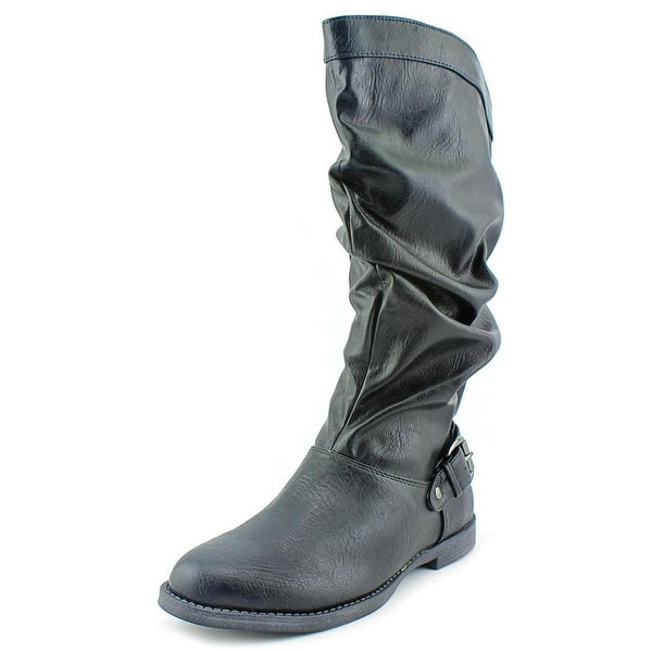 Easy Street Vigor Plus Wide Calf Women Round Toe Synthetic Mid Calf Boot